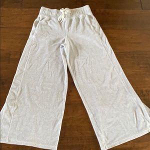 Lululemon velour pants size 8